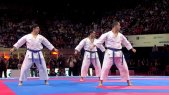 Japan vs Italy. Final Male Team Kata. WKF World Karate Championships 2012 Part 2