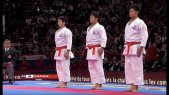 Japan vs Italy. Final Male Team Kata. WKF World Karate Championships 2012 Part 1
