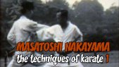 Masatoshi Nakayama: The Techniques of Karate Part 1
