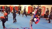 "Nassim Young Dragon Training Video part 1""Fighting Workout"" 2/1/14"