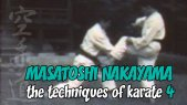Masatoshi Nakayama: The Techniques of Karate Part 4